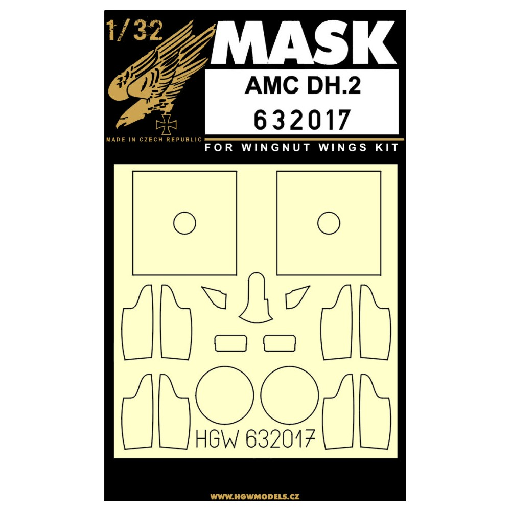 HGW 1//32 AMC DH.2 Super Detail Set # 132105