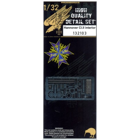 R.F.C. Bomb Tail-Rack - PE Set 1/32 - 132020