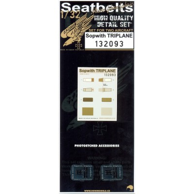 Sopwith Triplane - Textilní pásy 1:32 - 132093