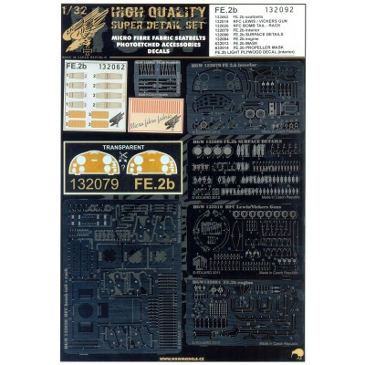 LVG C.VI - PE Set & Decal 1/32 - 132029