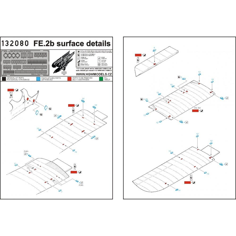 Salmson 2-A2 - PE Set 1/32 - 132121