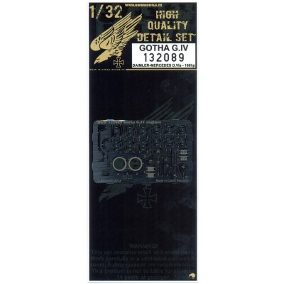 Gotha G.IV - Motor 1/32 - 132089