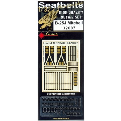 B-25 Mitchell - Seatbelts 1:32 - 132087