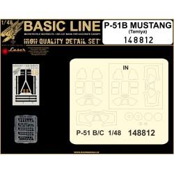 P-51 Mustang (Tamiya) - Basic Line Plus 1/48 - 148812
