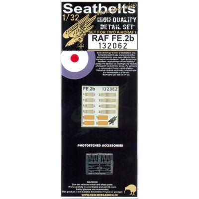 RAF FE.2b - Seatbelts 1:32 - 132062