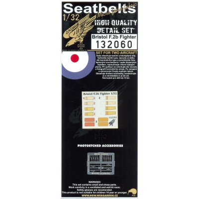Bristol F.2b Fighter - Seatbelts 1:32 - 132060