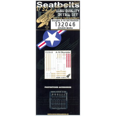 A-1H Skyraider - Seatbelts 1:32 - 132046