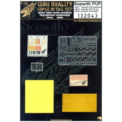 Sopwith Pup - Super Detail Set 1:32 - 132043