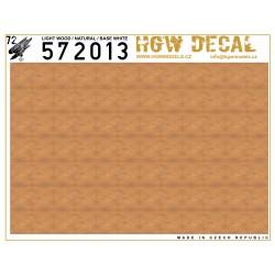 Přírodní světlé dřevo - Neprůhledný 1/72 - 572013
