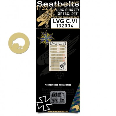 LVG C.VI - Seatbelts 1:32 - 132034