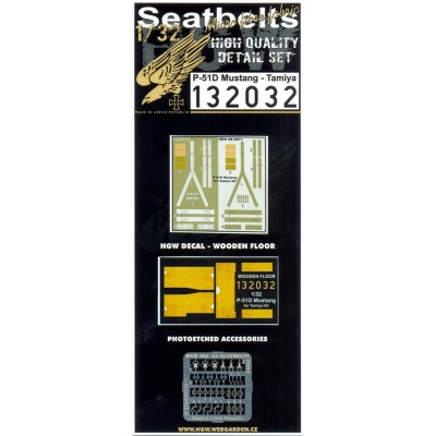 P-51D Mustang - Seatbelts 1:32 - 132032