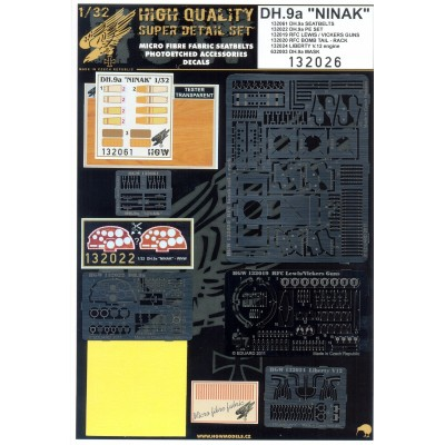 DH.9a Ninak - Super Detail Set 1:32 - 132026