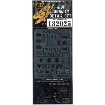R.F.C. Armament - PE Set 1/32 - 132025