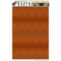 Natural dark wood  - Transparent 1/32 - 532702