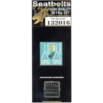F6F Hellcat - Seatbelts 1:32 - 132016