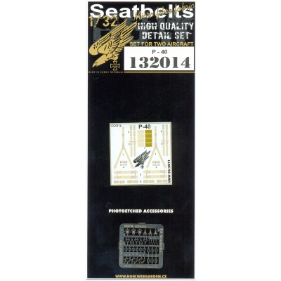 P-40 Kittyhawk - Seatbelts 1:32 - 132014
