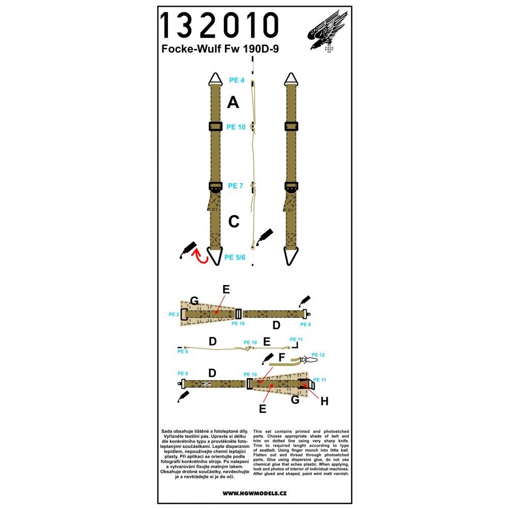W.29 - Seatbelts 1:32 - 132039