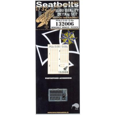 Pfalz D.III & D.IIIa - Textilní pásy 1:32 - 132006