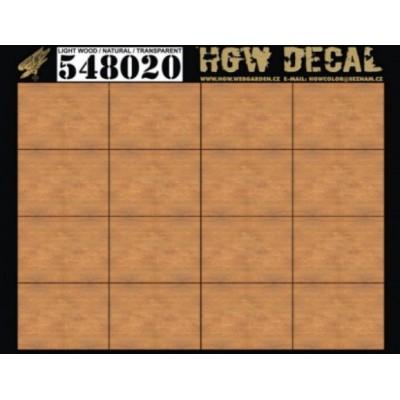 Přírodní světlé dřevo - Transparentní 1/48 - 548020
