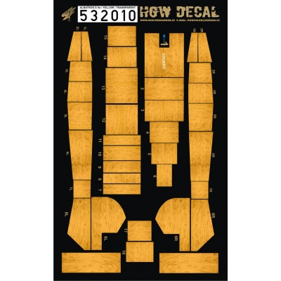 Albatros D.V & D.Va - Transparent Decals 1/32 - 532010