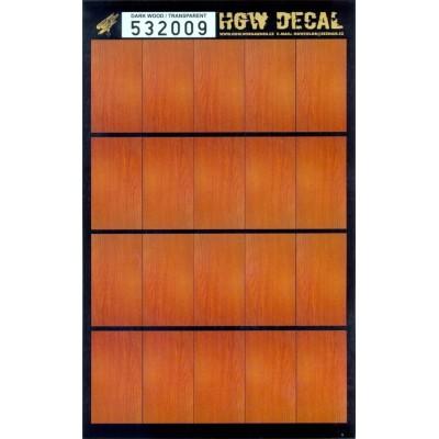 Tmavé dřevo - Transparentní 1/32 - 532009