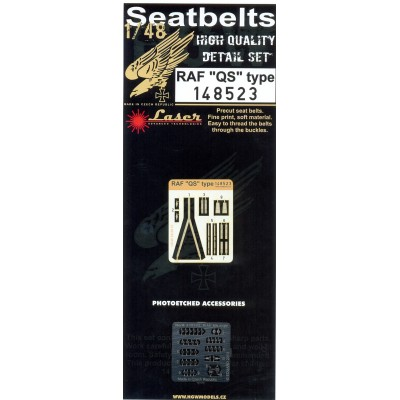 RAF QS Type (Late) - Seatbelts 1/48 - 148523