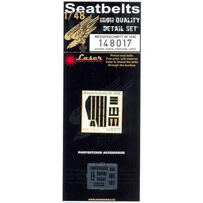 Bf 109E - Seatbelts 1/48 - 148017