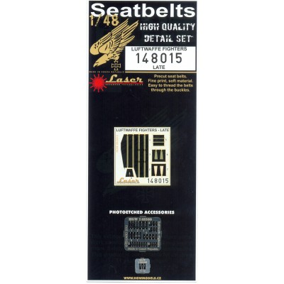 Luftwaffe (Late) - Seatbelts 1/48 - 148015