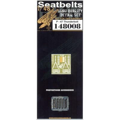 P-47 Thunderbolt - Seatbelts 1/48 - 148008