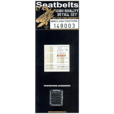 US Fighters - Seatbelts 1/48 - 148003