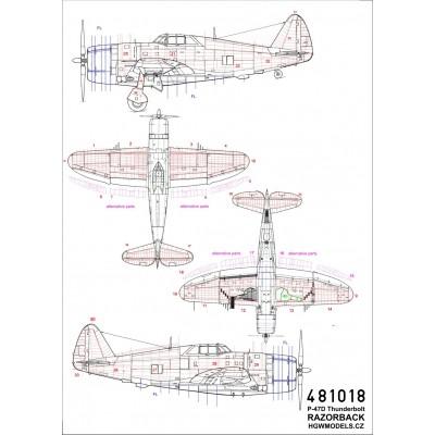 Hansa-B. W.12 - Výzbroj 1/32 - 132137