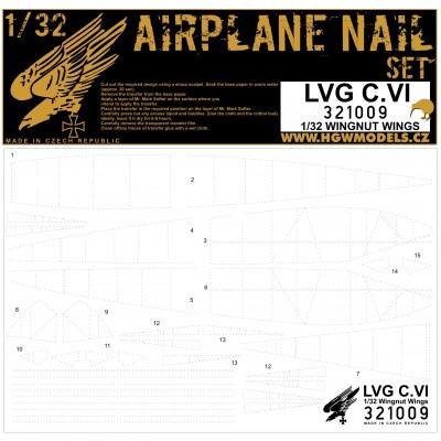 LVG C.VI - Hřebíčkovací sada 1/32 - 321009