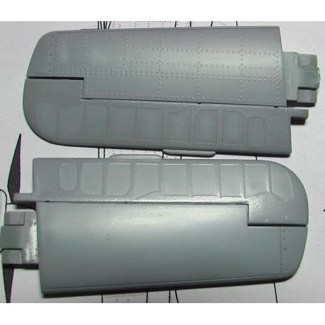 Jednoduché řady - Nýty 0,60 mm 1/72 - 722011