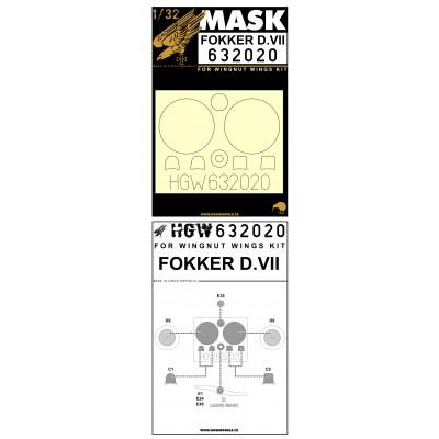 Fokker D.VII - Masks 1/32 - 632020