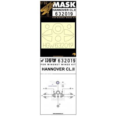 Hannover Cl.II - Masky 1/32 - 632019