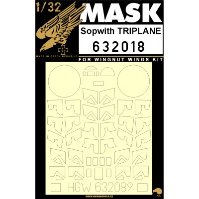 Sopwith Triplane - Masks 1/32 - 632018
