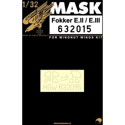 Fokker E.II & E.III - Masks 1/32 - 632015