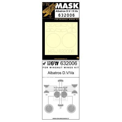 Albatros D.V & D.Va - Masks 1/32 - 632006