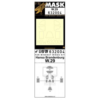 W.29 - Masky 1/32 - 632004