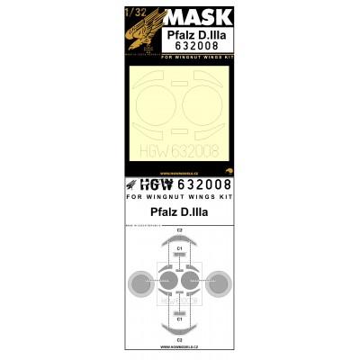 Pfalz D.IIIa - Masks 1/32 - 632008