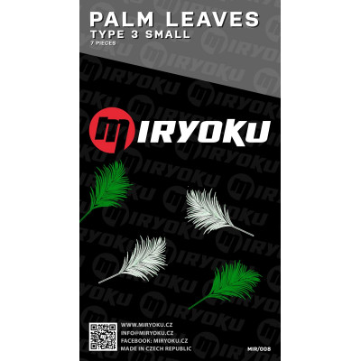 Palm leaves - TYPE 3 SMALL