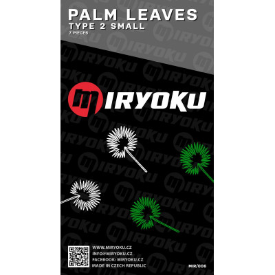 Palm leaves - TYPE 2 SMALL