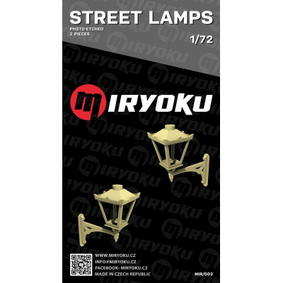 Street lamps 1/72