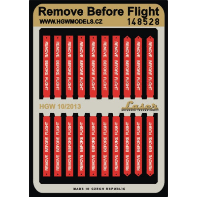 Remove Before Flight - Belts 1/48 - 148528