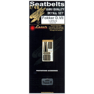 Fokker D.VII - Seatbelts 1/48 - 148520