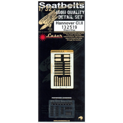 Hannover CI.II - Seatbelts 1/32 - 132519