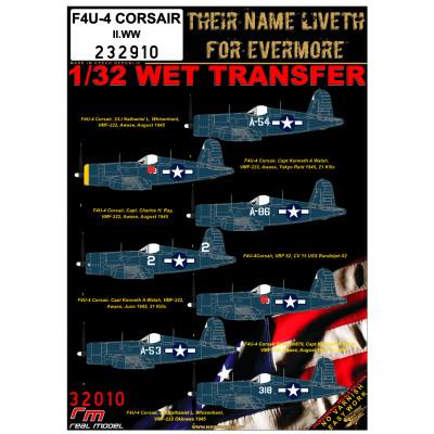 F4U-4 CORSAIR WW2 - 1/32 - 232910