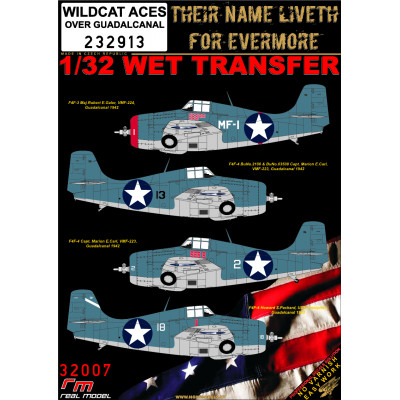 WILDCAT ACES over Guadalcanal - 1/32 - 232913