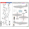 P-51 D/K Mustang - Stencils & Markings 1/32 - 232025