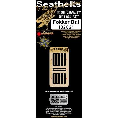 Fokker Dr. I. - Seatbelts 1/32 - 132621